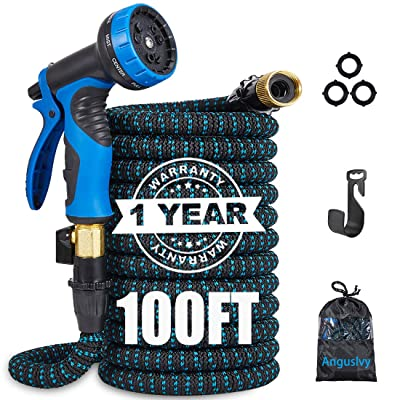 Anguslvy 100ft Garden Hose-All New Expandable W...