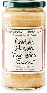 Stonewall Kitchen Sauce Chicken Marsala Simmering, 17.75 oz