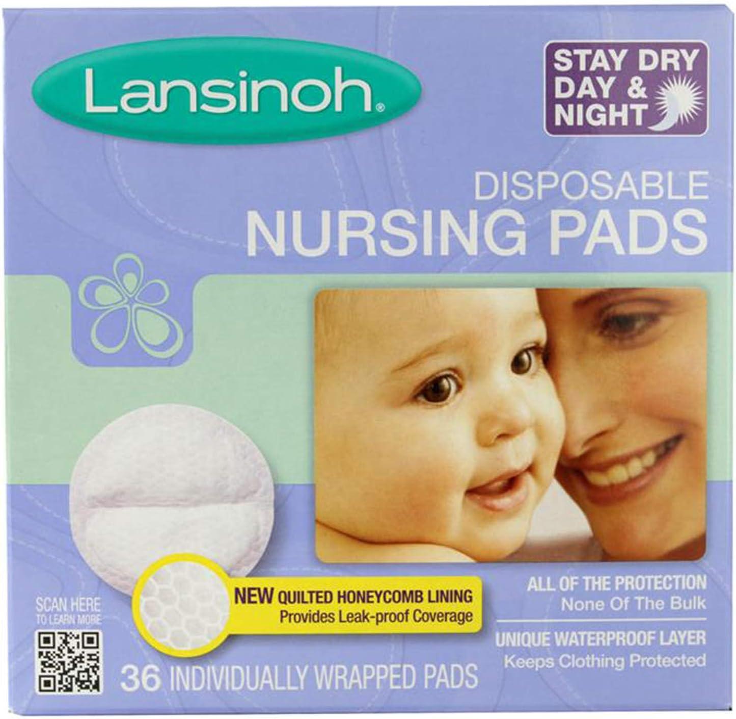 Lansinoh Disposable Nursing Fashion - Seattle Mall Pads 36-Pk
