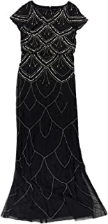 Womens Sequinned Sheath Dress