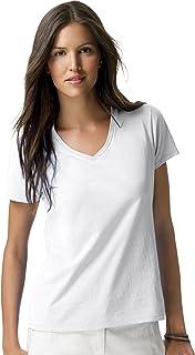Hanes Women's Short Sleeve Nano-T V-Neck Tee