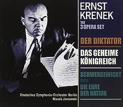 Ernst Krenek: Der Diktator / Das geheime Königreich / Schwergewicht order Die ehre der Nation