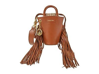 See by Chloe Cecilia Shoulder Bag (Caramello 1) Handbags