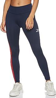 Reebok womens Training Essentials Linear Logo Poly Legging Leggings