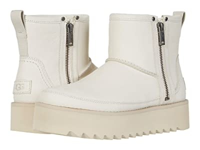 UGG Classic Rebel Biker Mini (Bone) Women