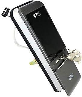 EPIC 電子錠 TRIPLE X 2 3way 非常時にも安心の非常キー(2本)搭載タイプ (トリプルエックス 2) 開き戸用 解錠方法:暗証番号/ICカード Mifare(taspo可)/FeliCa(Suica可) ACS-BT1 無料同...