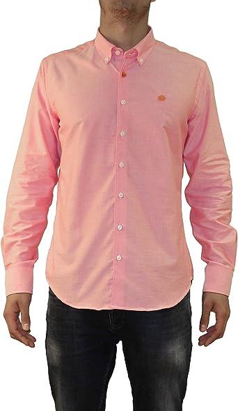 Bloom Clothes - Camisa Lisa para Hombre en Color Rojo: Amazon ...