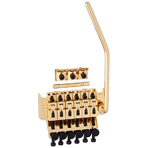 Floyd Rose Original Series Tremolo Bridge w/ R3 Nut Gold