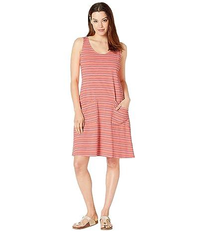 Fresh Produce Promenade Stripe Drape Dress (Sunkissed Orange) Women