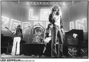 Led Zeppelin – Earls Court 1975 Poster 23 x 33in