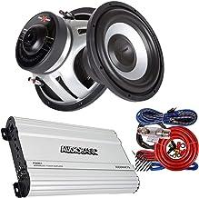 $169 » Sponsored Ad - 2X Soundxtreme ST-1052 2200Watts Peak Power Car Audio Subwoofers with DVC Power + Audiobank P3001 3000 Watt...