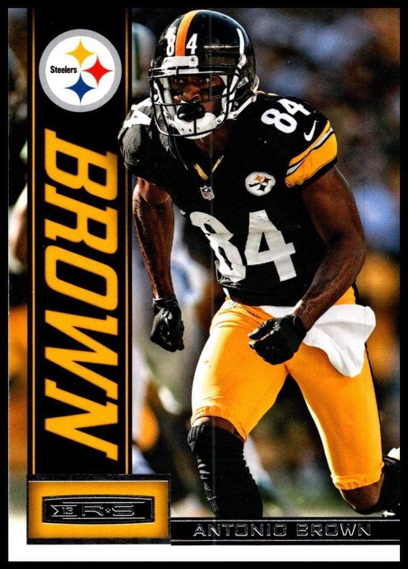 Amazon Com 2013 Panini Rookies And Stars 79 Antonio Brown Nm Mt Pittsburgh Steelers Official Nfl Football Trading Card Collectibles Fine Art