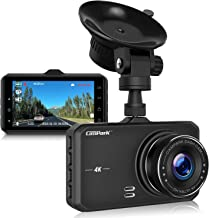"""$69 » Campark Dash Cam 4K UHD DVR Driving Recorder Camera for Cars Dashboard with 3"""" LCD 170°Wide Angle Night Vision G-Sensor Parking Monitor WDR Motion Detection"""