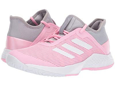 adidas Adizero Club 2 (Light Granite/Footwear White/True Pink) Women