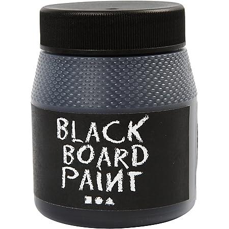 Colore lavagna nero, 250 ml.