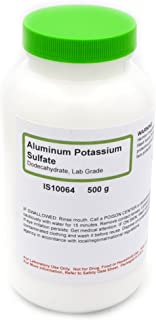 Laboratory-Grade Aluminum Potassium Sulfate 12-Hydrate, 500g - The Curated Chemical Collection