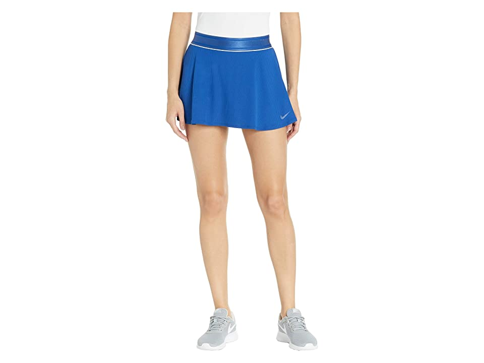 Nike Court Dry Skirt Flouncy (Indigo Force/White/Indigo Force) Women