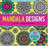 Mandala Designs Adult Coloring Book (31 stress relieving designs) (Studio) by Peter Pauper Press (10-Nov-2014) Perfect Paperback