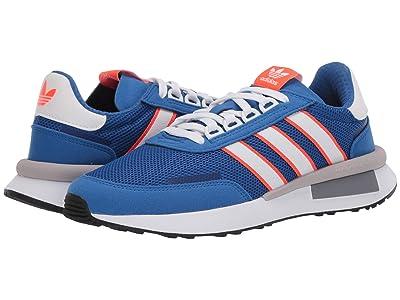 adidas Originals Kids Retroset J (Big Kid) (Blue/Footwear White/Solar Red) Boys Shoes