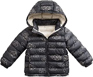 marc janie Girls Boys' Lightweight Packable Hooded Down Puffer Jacket