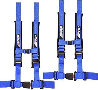 """PRP 2"""" SBAuto2 4 Point Harness 4.2 with Auto Style Latch, 2 Pack (Blue)"""