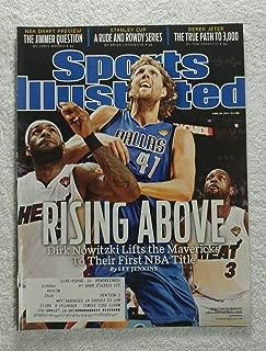 Dirk Nowitzki - Dallas Mavericks - 2011 NBA World Champions! - Sports Illustrated - June 20, 2011 - Miami Heat - SI