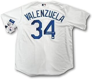 Fernando Valenzuela Signed Jersey - Online Large - Autographed MLB Jerseys
