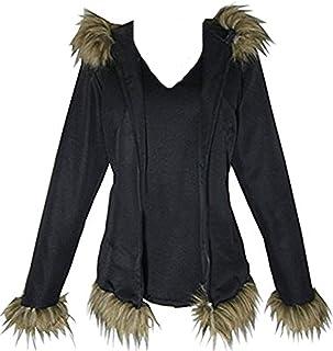Vicwin-One Izaya Orihara Black Jacket Halloween Uniform Cosplay Costume