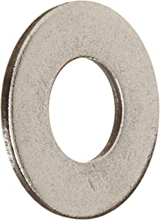 1-3//4 OD 0.105 Nominal Thickness 3//4 Hole Size 13//16 ID Pack of 25 18-8 Stainless Steel Flat Washer Plain Finish