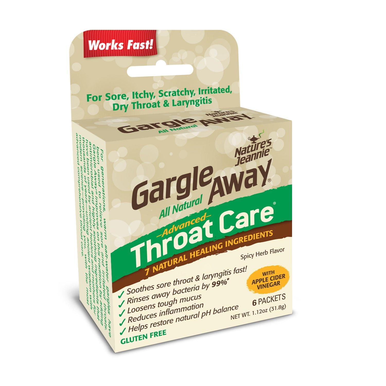 Gargle Away Comprehensive Laryngitis Congestion
