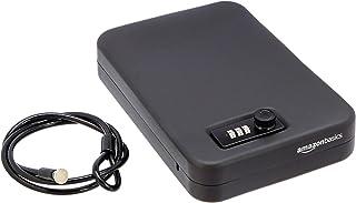 AmazonBasics - Caja fuerte portátil, cerradura de combinación, XL