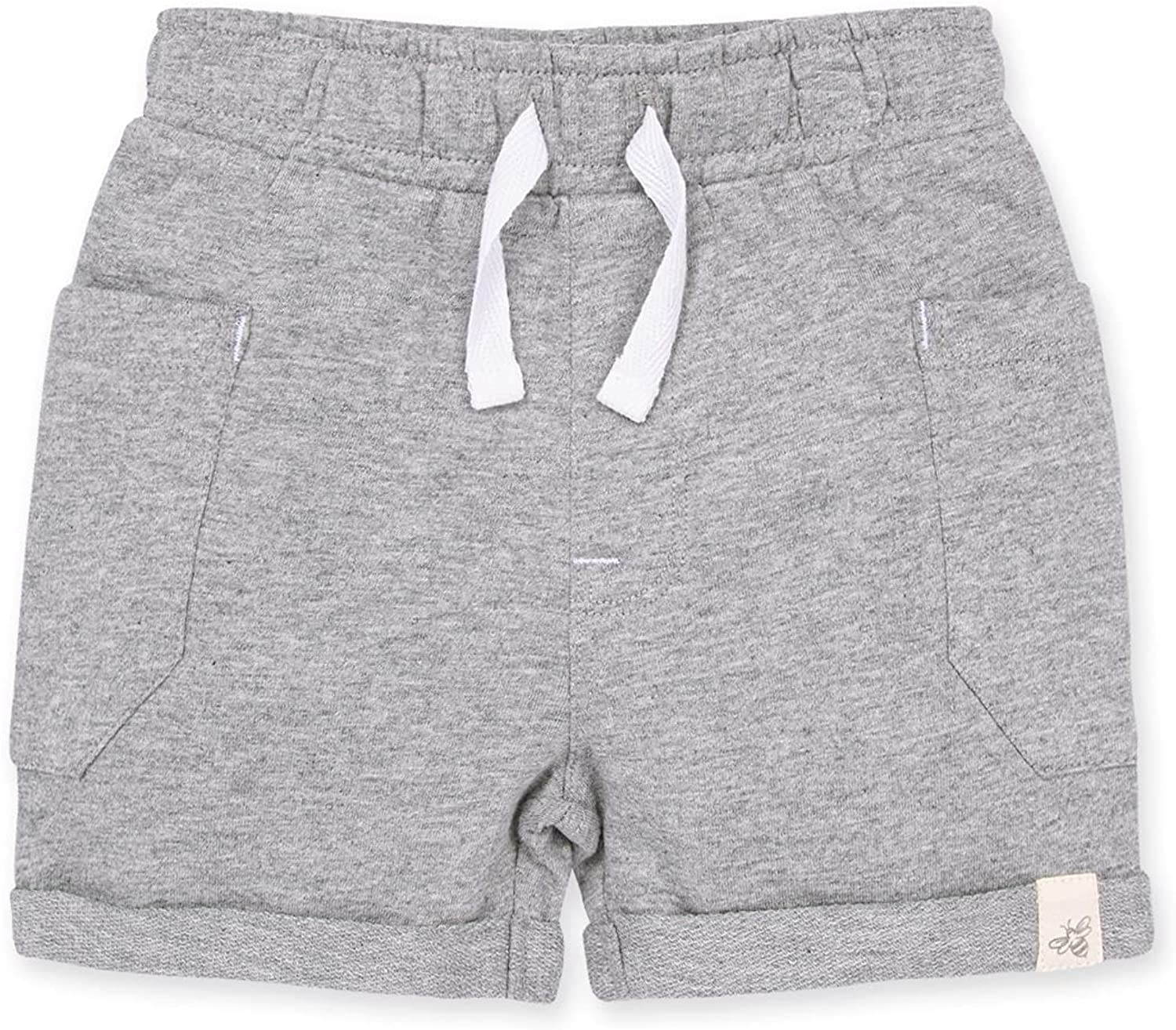 Burt's Bees Baby Baby Shorts, Infant Knit Bottoms, 100% Organic Cotton