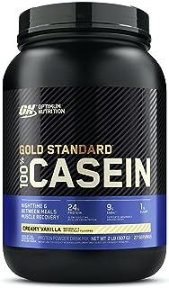 Optimum Nutrition 100% Casein Gold Standard, Creamy Vanilla, 908g