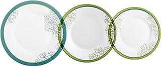 comprar comparacion Luminarc Orbea Vajillas, Opal, Multicolor, 29x14x29 cm, 18 Unidades