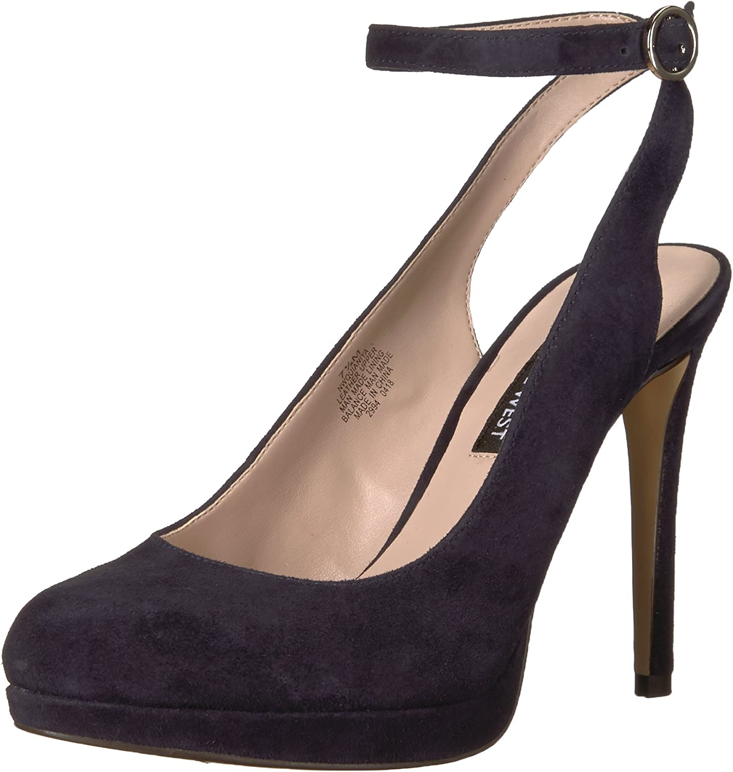 Nine West Womens Quianiya Suede Pump