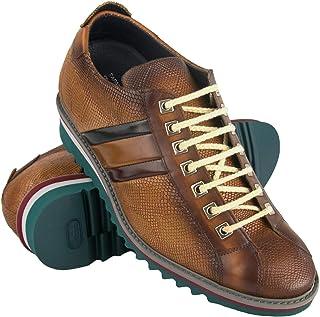 Zerimar Zapatos con Alzas Hombre | Zapatos Deportivos con Alzas Que Aumenta su Altura + 7 cm | Zapatillas Hombre de Vestir...
