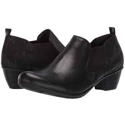 Rieker R7575 Queenie 75 (Black/Black/Black) Women