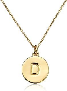 Gold-Tone Alphabet Pendant Necklace, 18