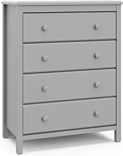 Stork Craft Storkcaft Alpine 4 Drawer Dresser (Pebble Gray)