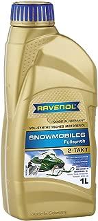 RAVENOL J1V1300 2-Stroke Snowmobile Oil - Full Synthetic JASO FD Spec Oil (1 Liter)