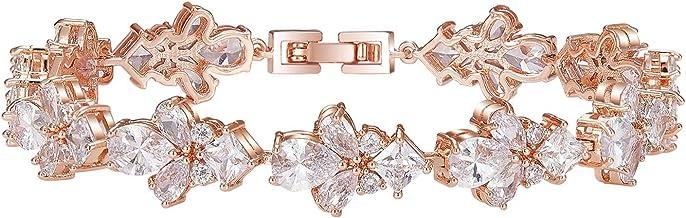 Rhinestone Bangle Bracelet \u2013 Wedding Bracelet Jewelry \u2013 Bridal Bracelet \u2013 Crystal Bracelet \u2013 Silver Heart Bridesmaid Statement Jewelry Gift