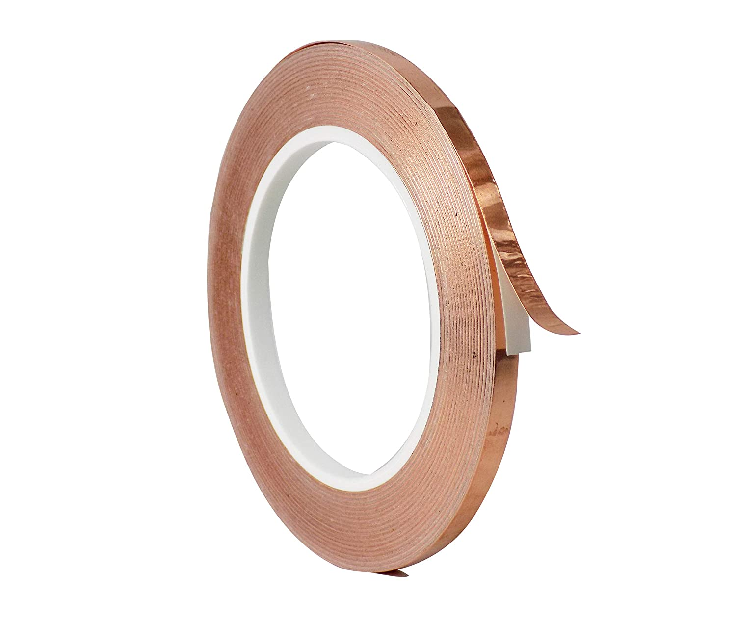 WOD CFTCA Large discharge sale Louisville-Jefferson County Mall Copper Foil Tape with Conductive Adhesive 1 4 - inch x