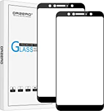 (2 Pack) Orzero for ASUS ZenFone Max Pro M1 ZB601KL Tempered Glass Screen Protector, 2.5D Arc Edges 9 Hardness HD Anti-Scr...