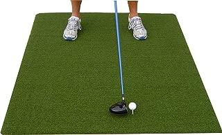 Premium 4'X5' Luxury Tee Golf Hitting Mat- Holds a Wooden tee