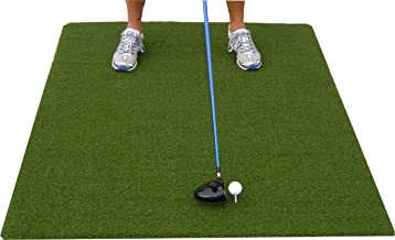 Premium 3'X5' Luxury Tee Golf Hitting Mat- Holds a Wooden tee