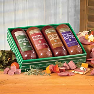 BEEF LOG Gift Combos, Gift of 6 from The Swiss Colony