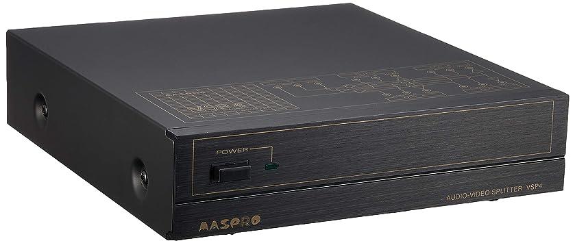 シュガー識字挨拶マスプロ電工 AV分配器 VSP4
