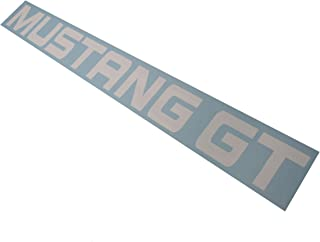 MUSTANG GT Windshield Banner White 40