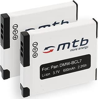 Cámara de batería cargador Micro USB para Panasonic Lumix dmc-sz3k dmc-sz3p