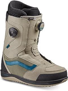Vans Aura Pro Men's Snowboard Boots, Khaki/Blue, 2019